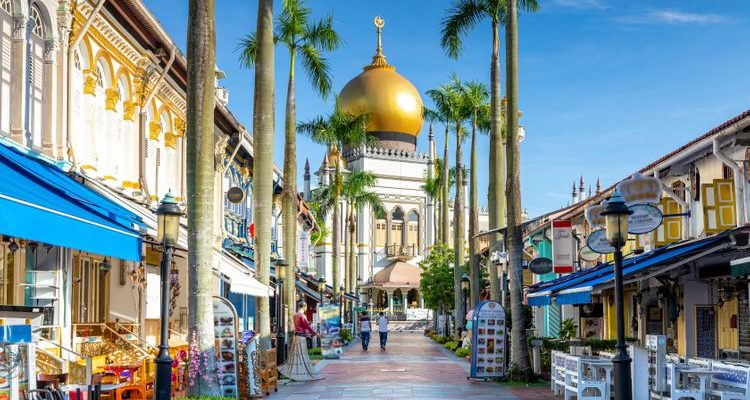 Sultan Mosque Kampong Glam street things to do in Singapore