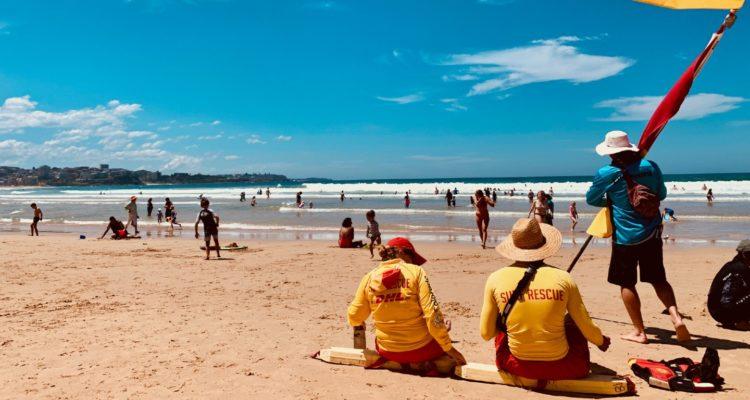 Surf Lifesavers in Australia