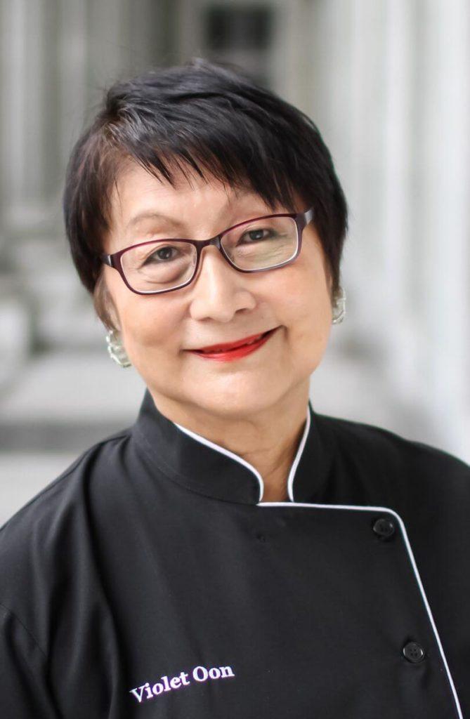 Violet Oon Singapore celebrity chef