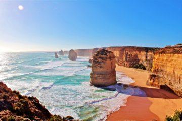 Twelve Apostles in in Victoria, Australia