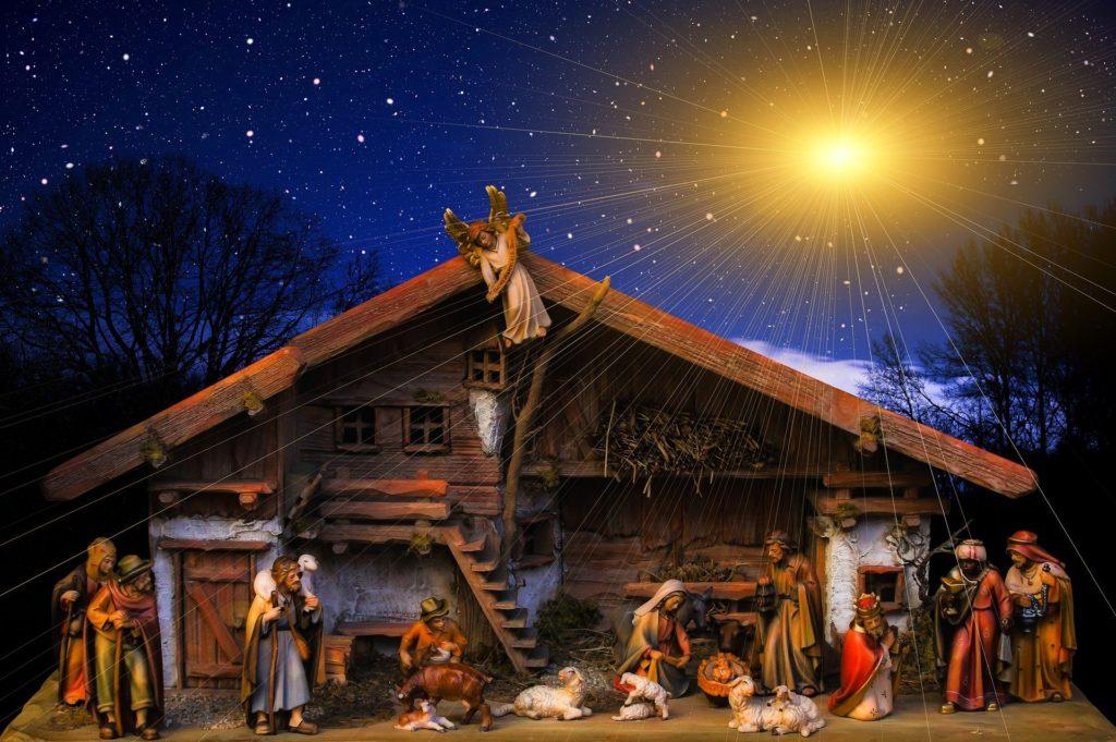 Nativity scene decoration