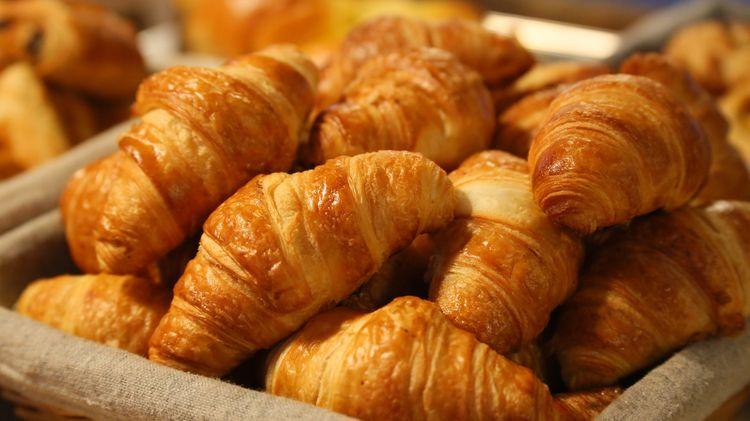 basket of croissants best croissants in Paris