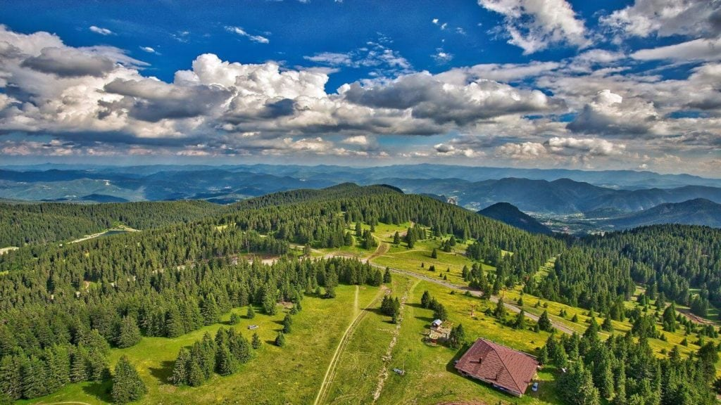 green forests mountains Bulgaria