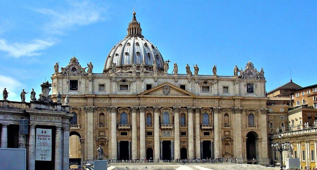 St Peter's Basilica Vatican City Rome Italy