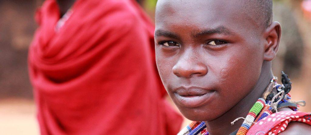 Tanzanian man in traditional dress Tanzanian culture