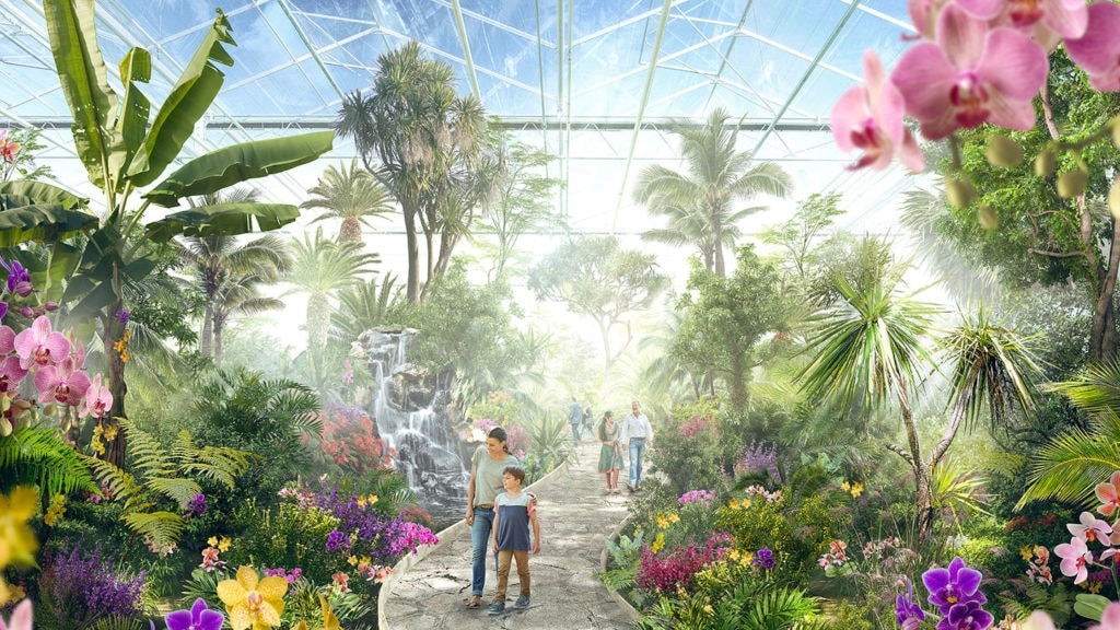 Wander the Greenhouse at Floriade 2022