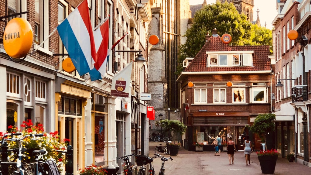 Visit the town of Gouda