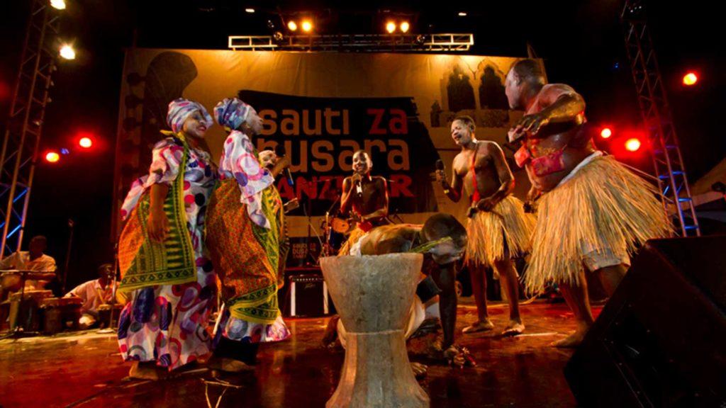 Sauti za Busara is a music festival in Zanzibar, Africa