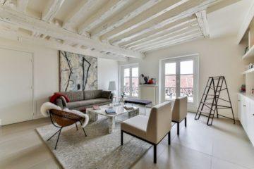 minimalist Scandi-Cool living room design Scandinavia