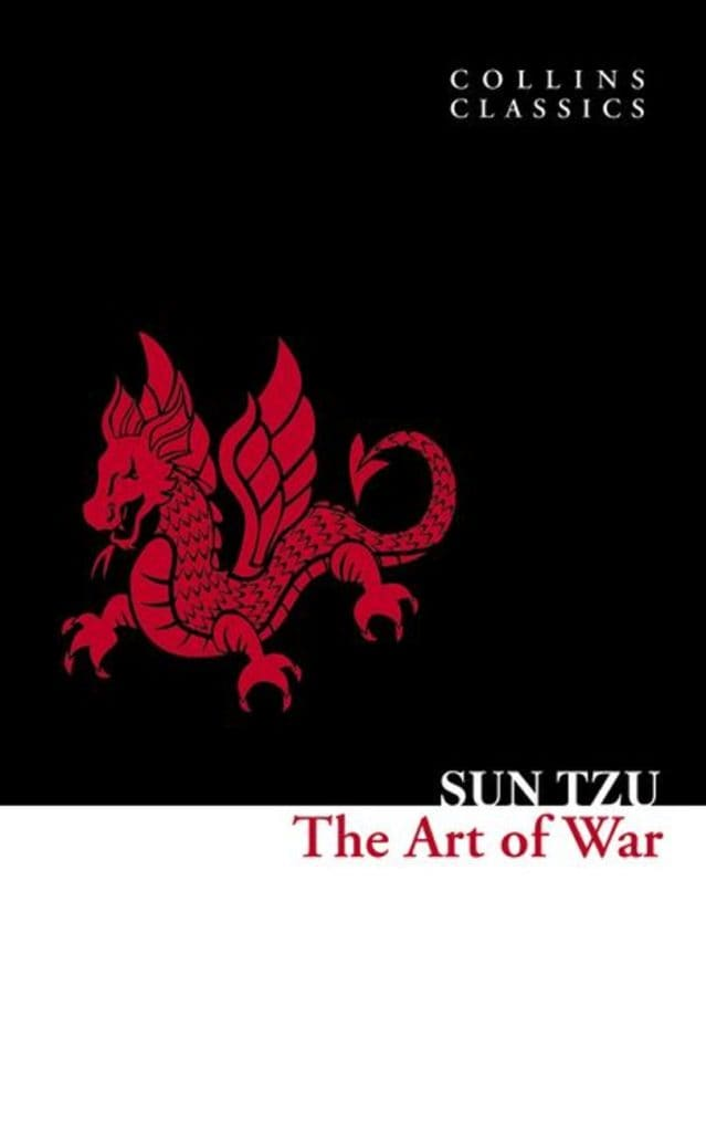 The Art of War by Sun Tzu book cover