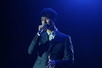 J-Pop star performing