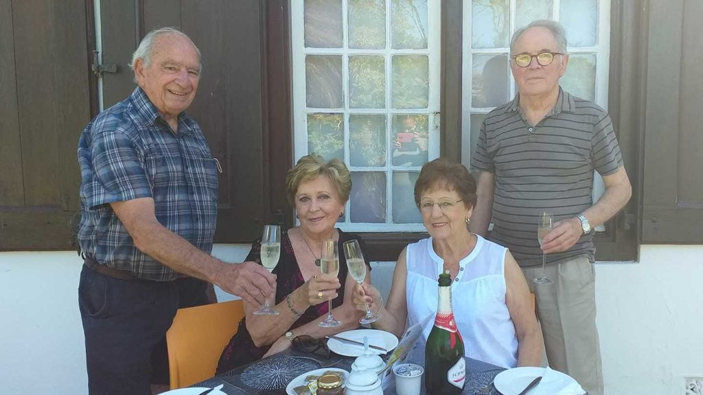 Hammie and Norma Lategan celebrate 54 years of marriage