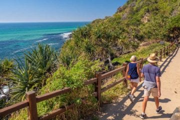 Walking in Queensland, Australia. Credit: Tourism Australia