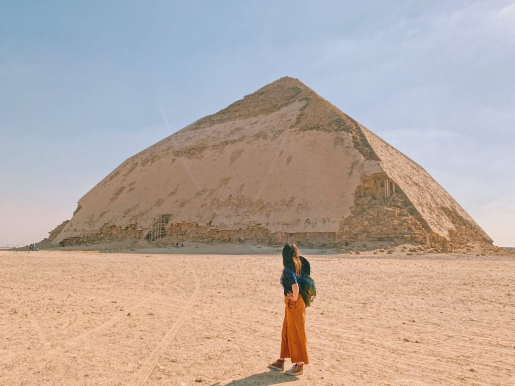 When considering what to pack for your trip to Egypt to visit the pyramids, keep the harsh sun and religious customs in mind
