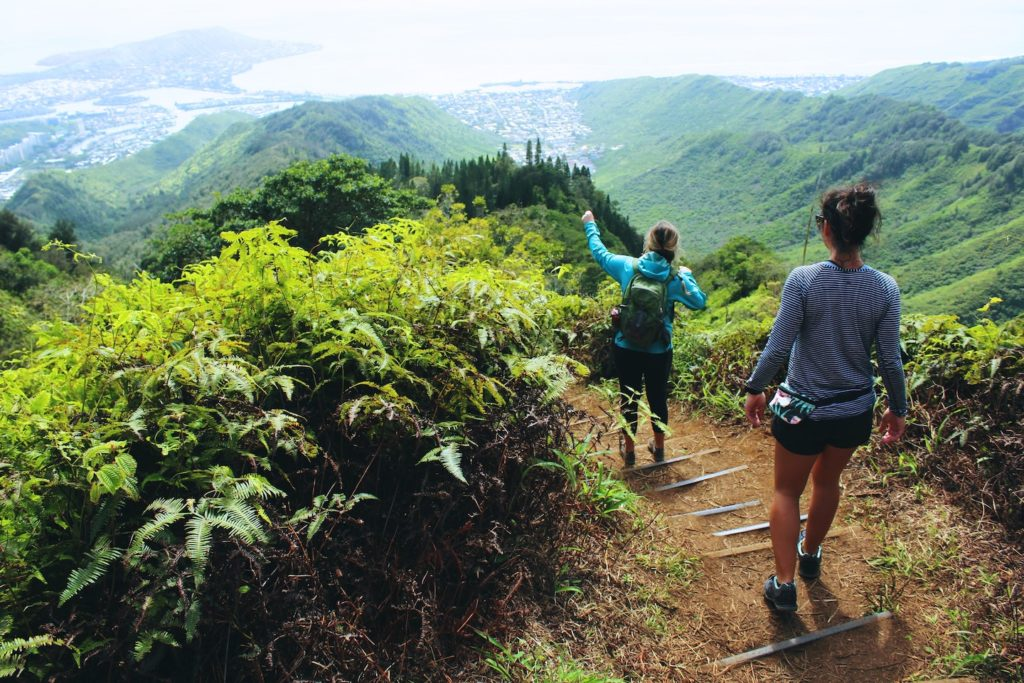 Your tour to Hawaii could include hiking on Big Island