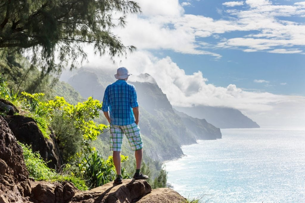 Prepare for hot and humid when you're thinking about what to wear in Hawaii when hiking