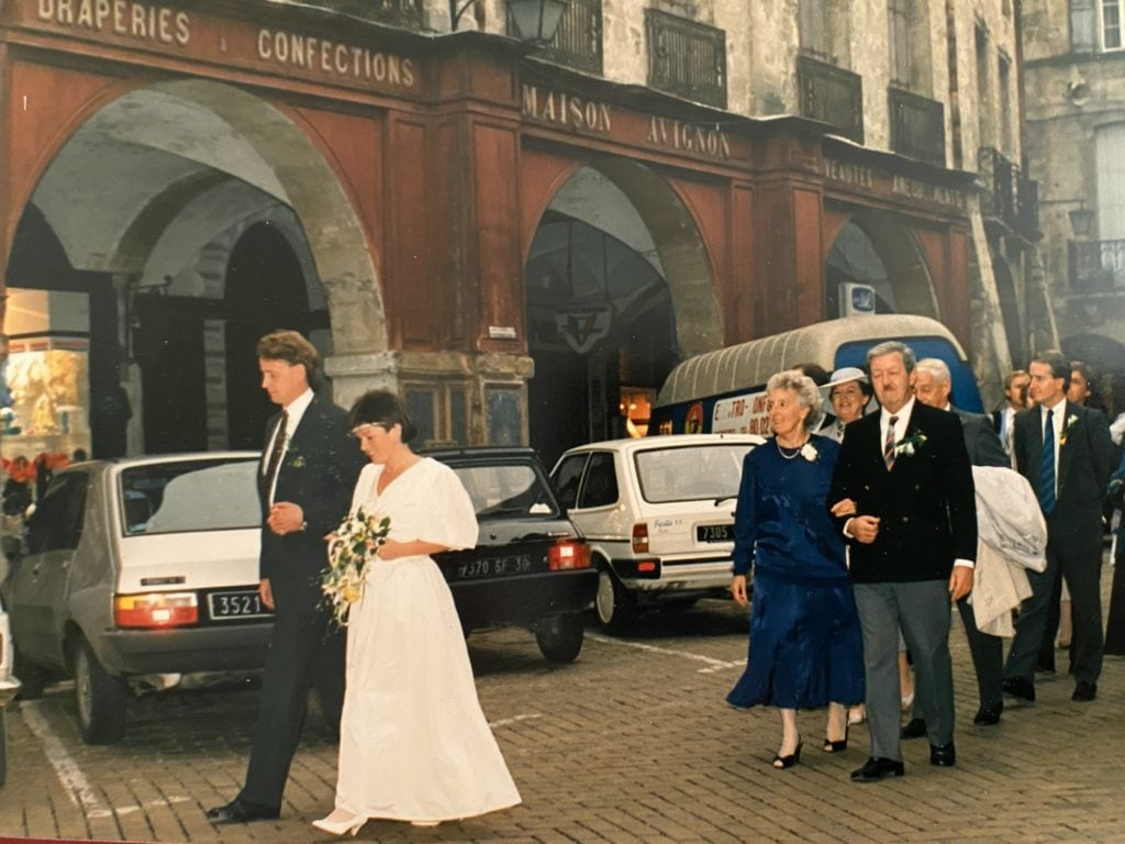 Colette and Ulf wedding day