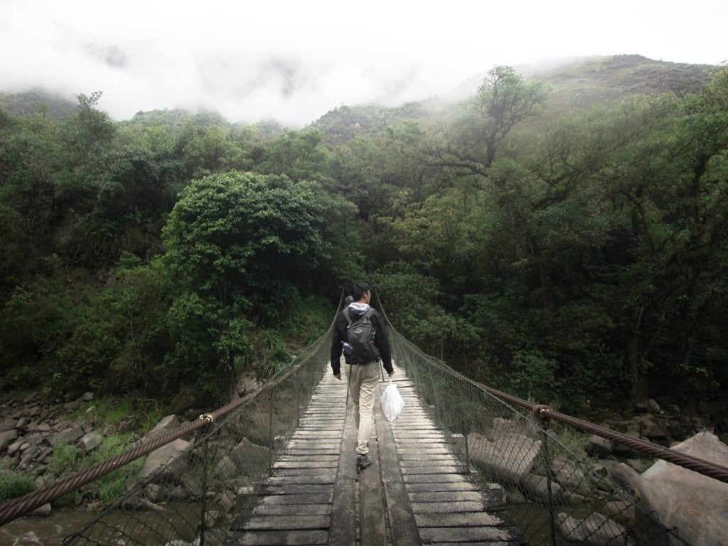 Consider a rain jacket when you're planning what to pack for Machu Picchu