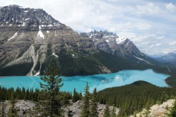 The stunning views of Jasper National Park.