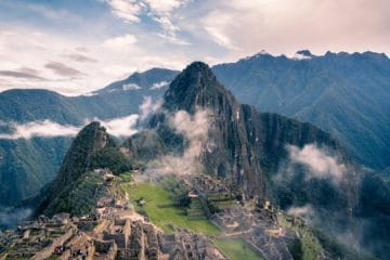 Mountain landscapes of Peru