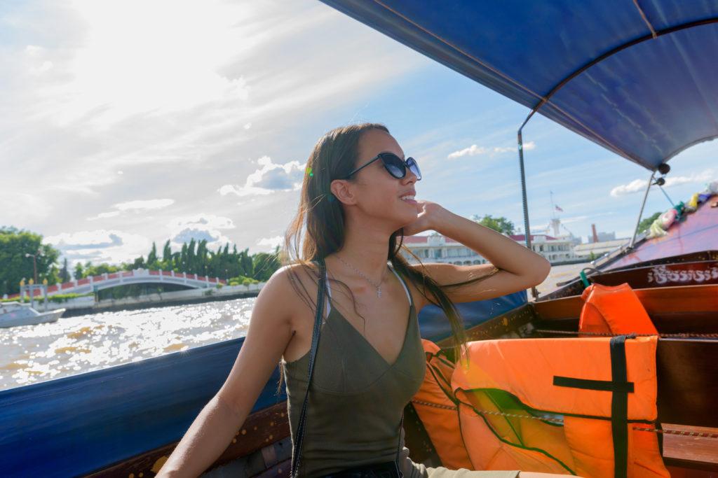 Exploring Bangkok by boat