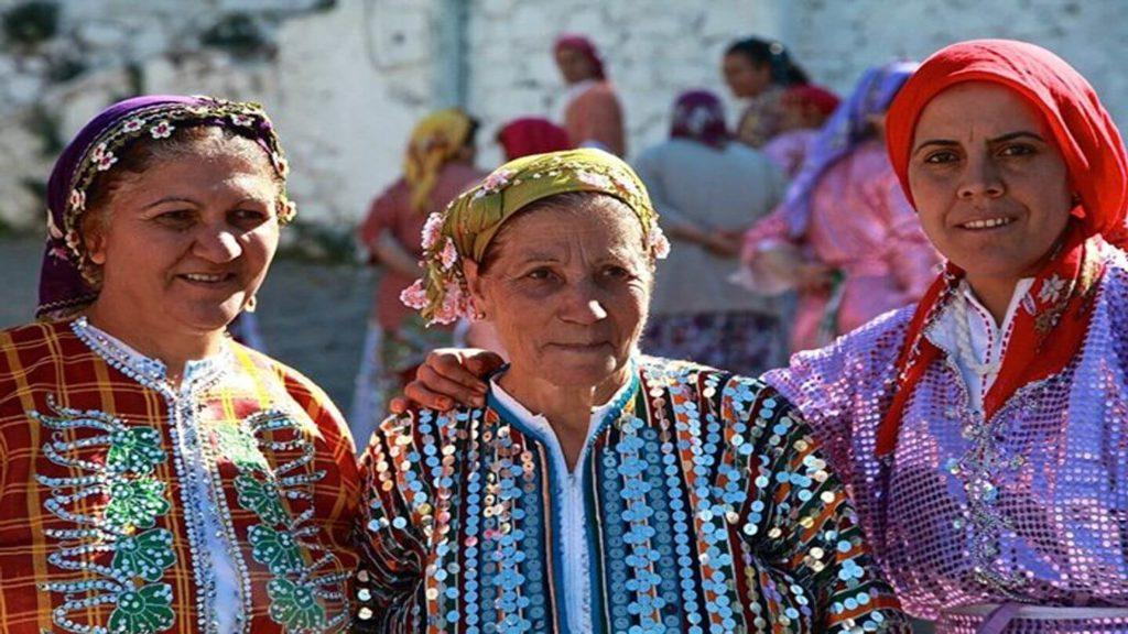 three women from Demercidere Turkey
