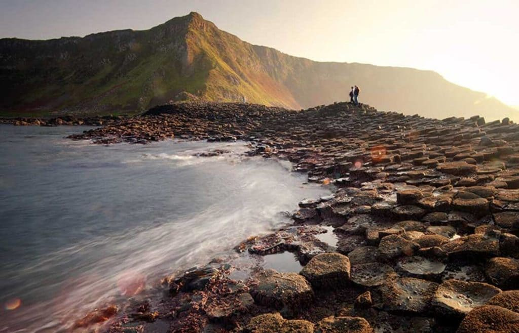 rocky stepping stones mountains Giants Causeway Northern Ireland responsible travel experiences