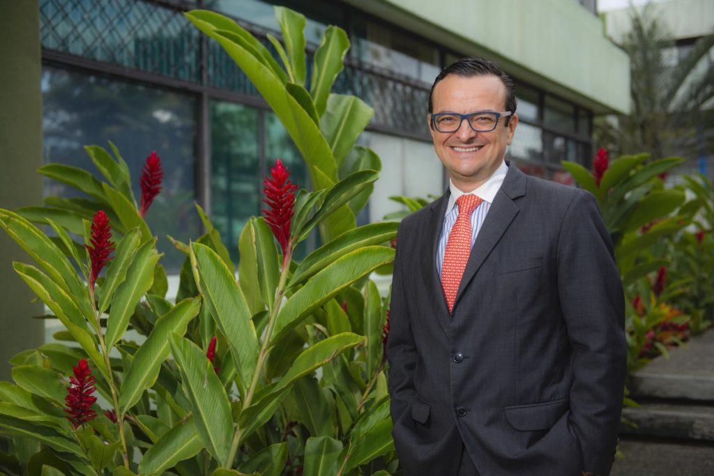 Costa Rica's Minister for Tourism, Gustavo Segura Sancho