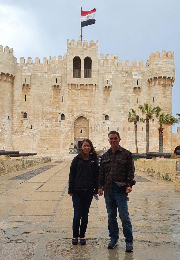 Trafalgar guests in Egypt