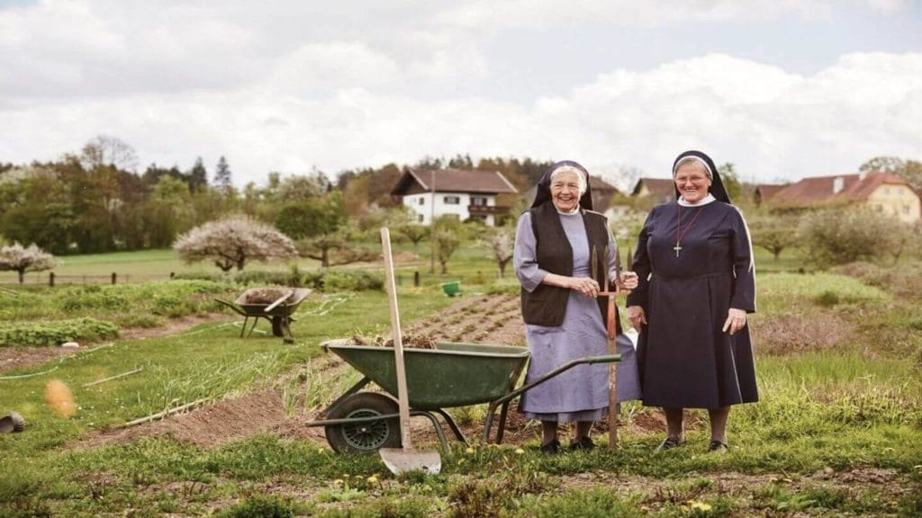 Trafalgar Be My Guest experience two nuns on a local farm