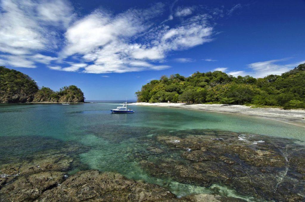beautiful deserted beach in costa rica