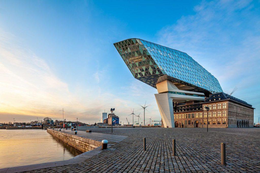 Harbour Master Wharf Antwerp Belgium