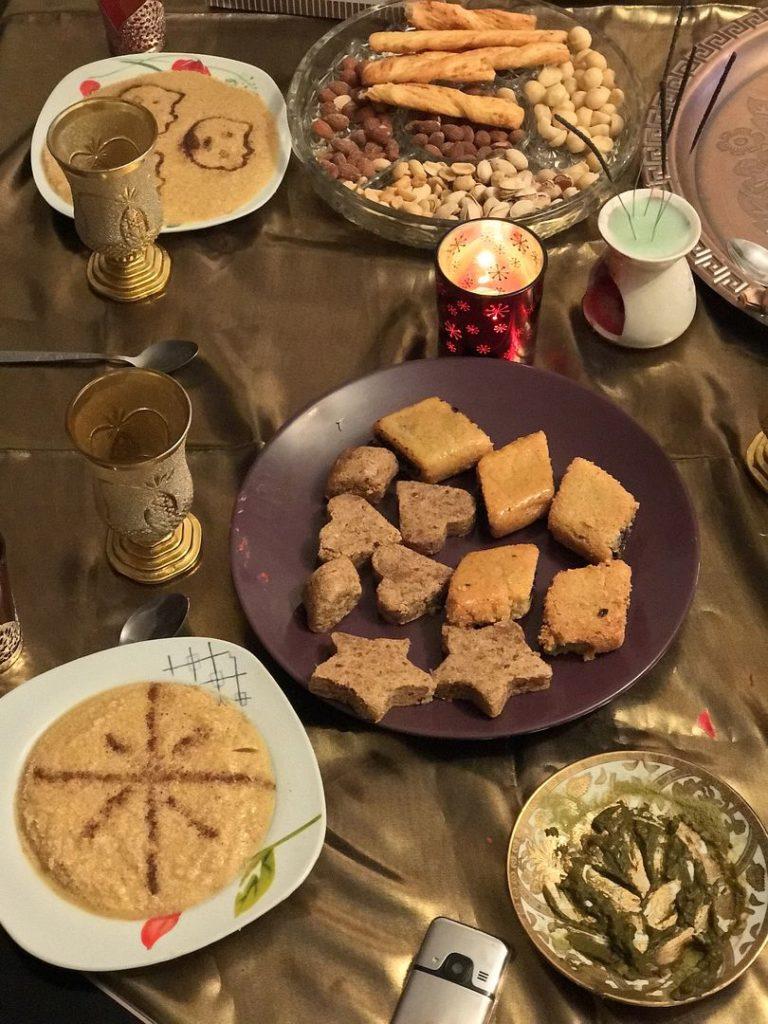 traditional feast after Ramadan