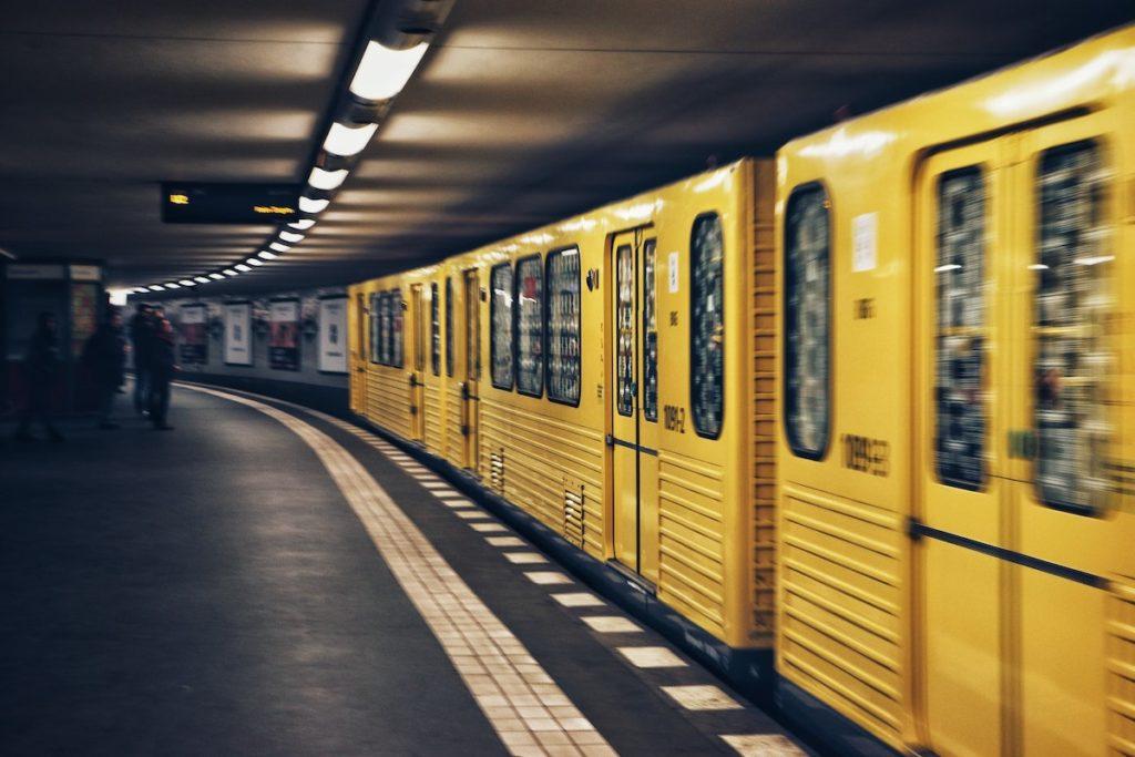 Berlin train u-bahn