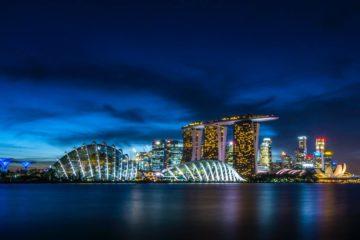 "img src = ""singapore.jpeg"" alt=singapore skyline at night"