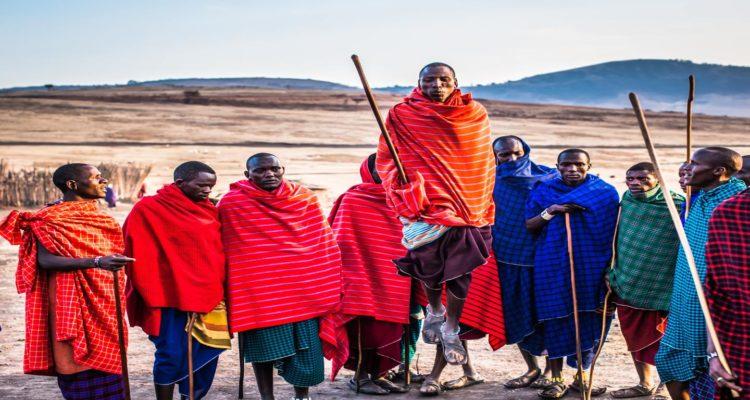 Maasai Mara Tribe, Kenya