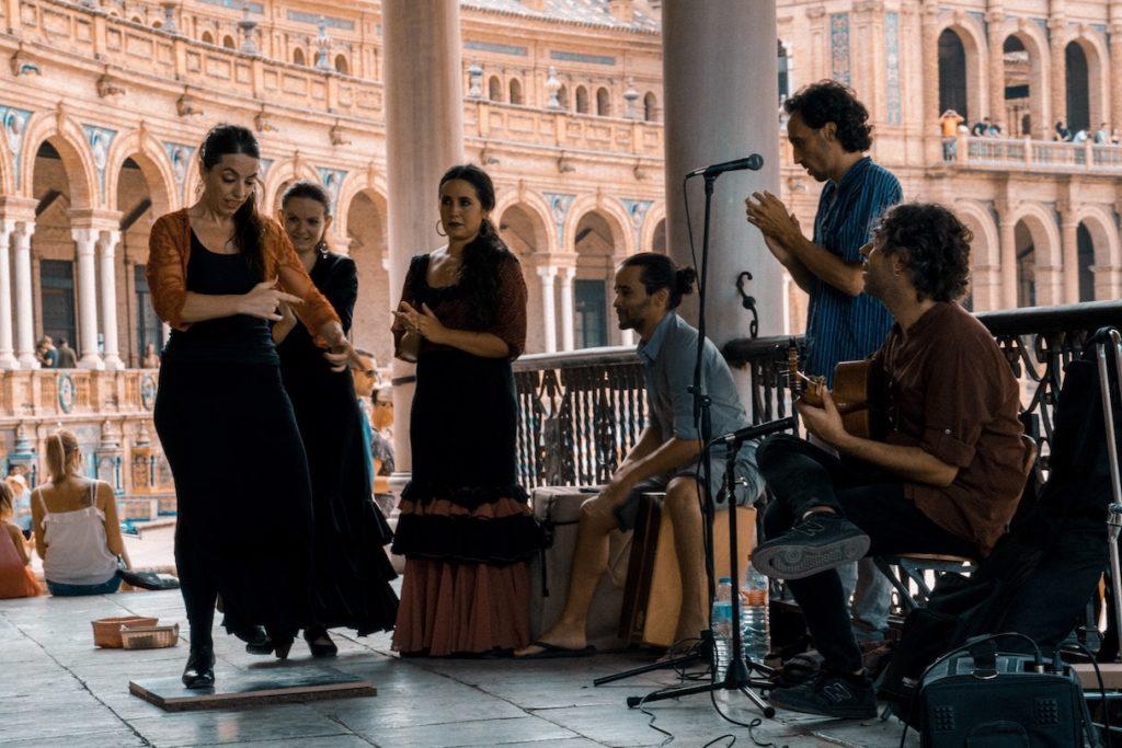 cultural fiestas and dances of Spain