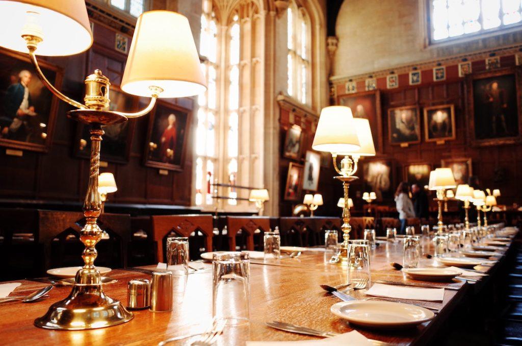 Hogwarts Christ College Oxford UK film locations