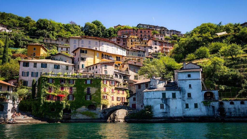 Lake Como from boat