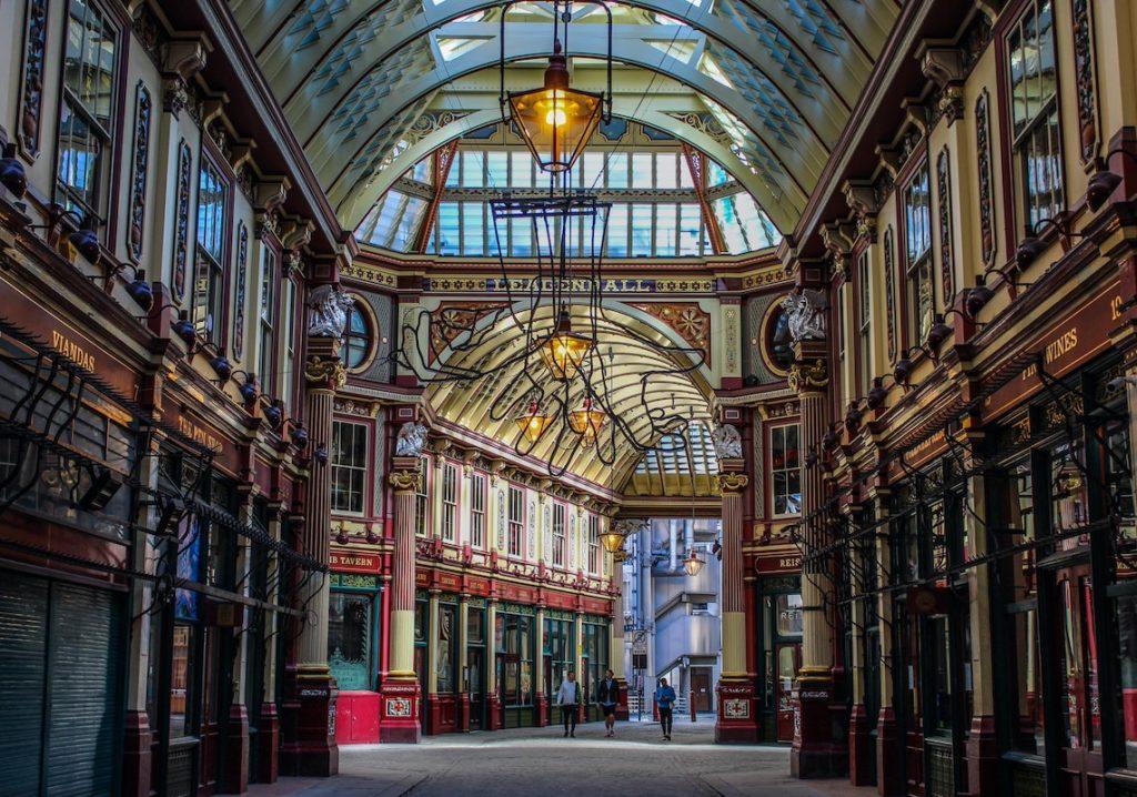 Leadenhall Market London_ UK film locations
