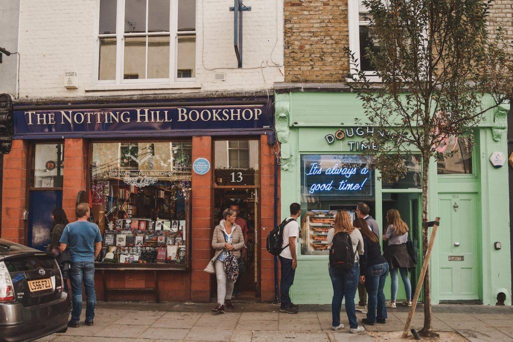 Notting Hill UK film locations