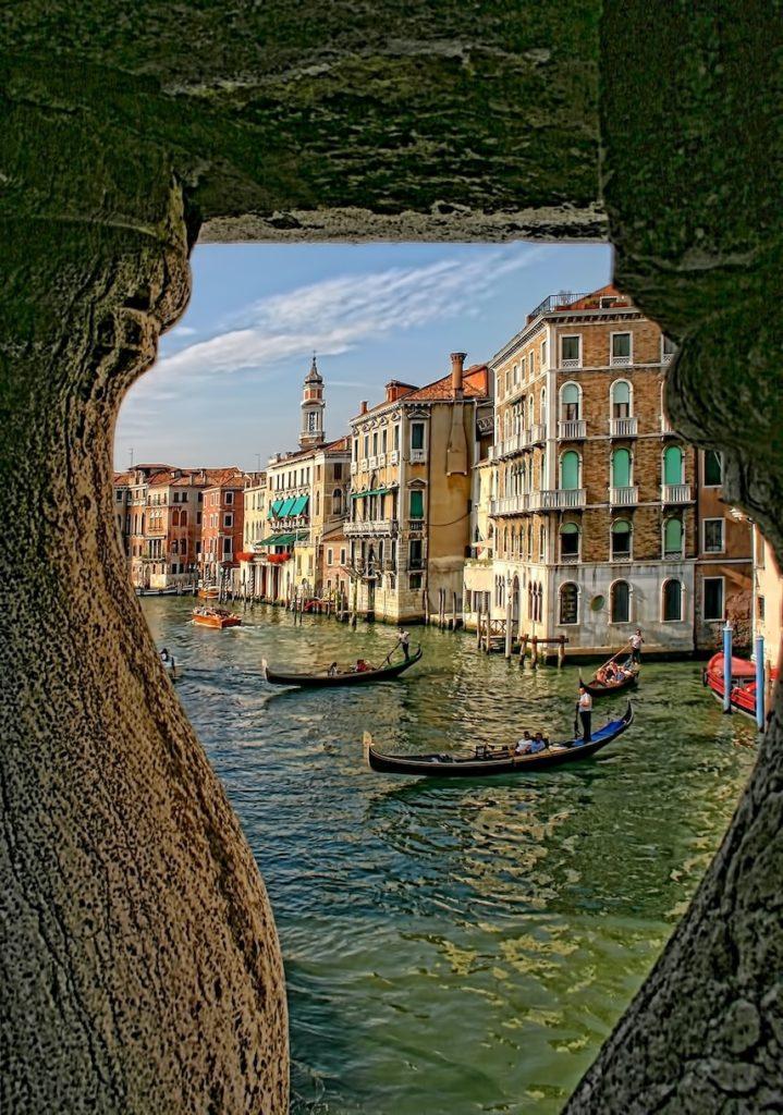 Venice at an angle