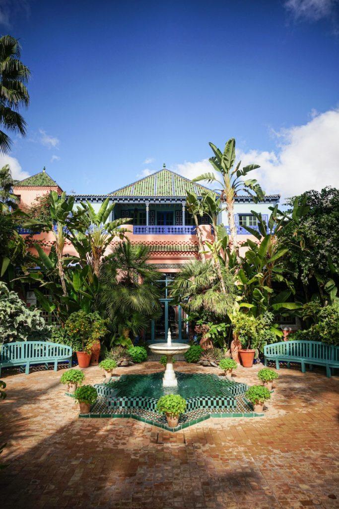 The Majorelle Gardens Morocco experiences