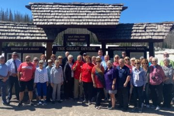 Trafalgar guests on the Welcome to Colorado tour