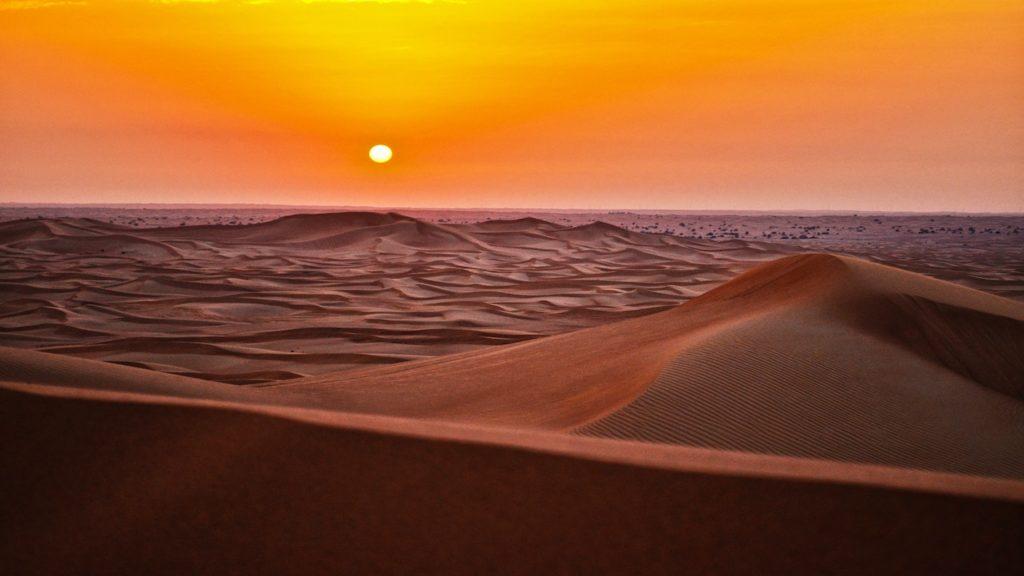 Sahara Sunset - quarantine-free