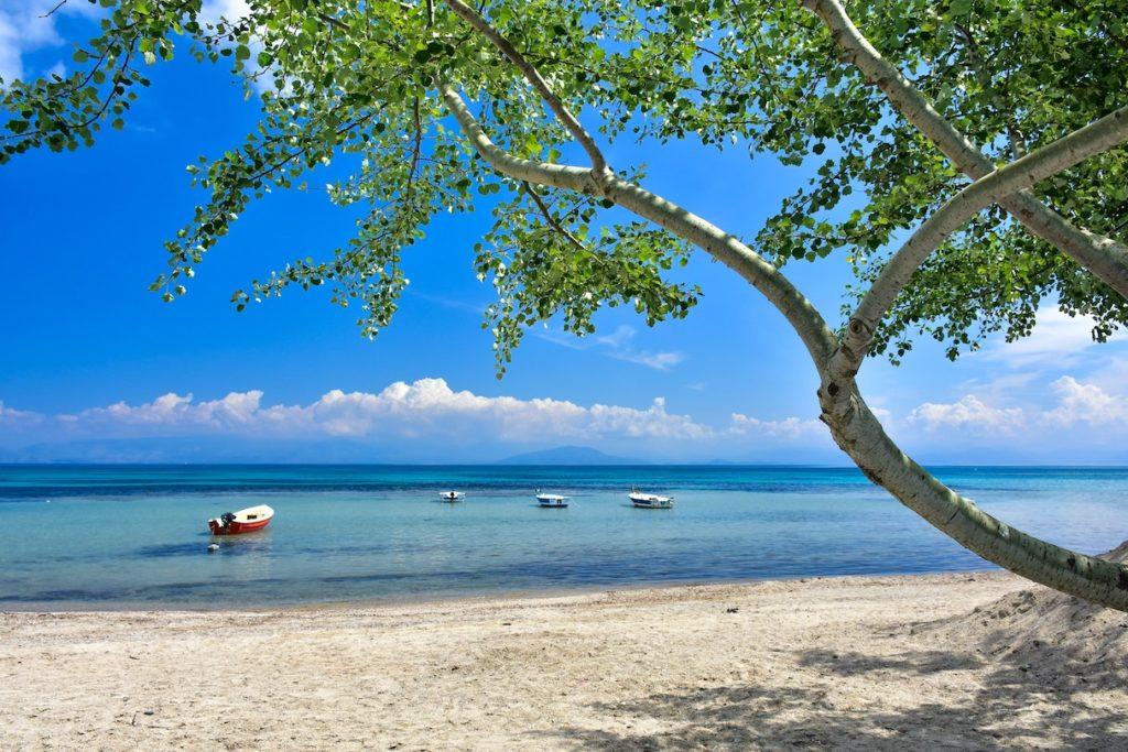 Corfu Beach quarantine-free