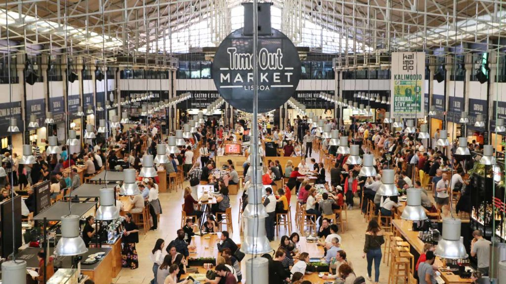 Time Out Market Lisbon by Olá Daniela