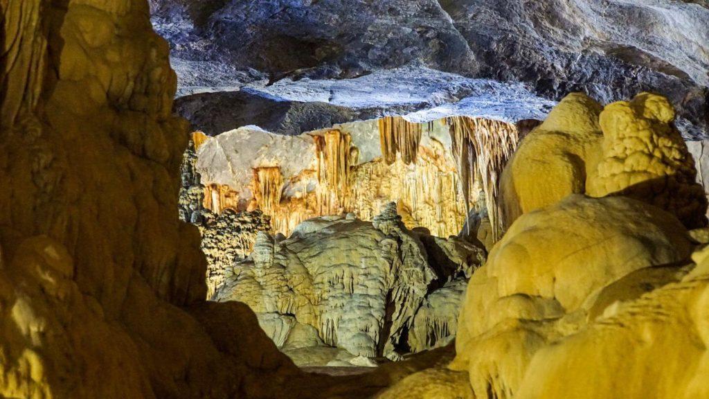 cave rock formations Phong Nha Vietnam