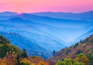HEART OF THE SOUTH AND THE GREAT SMOKY MOUNTAINS