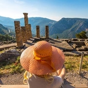 Greece Delphi TempleOfApollo 2016 R 486885826